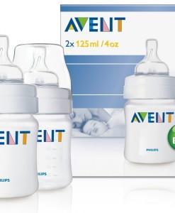 AVENT kojenecká lahev (PP) 125 ml, 2 ks b