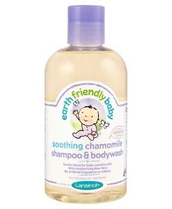 Earth Friendly Baby přírodní šampon - sprchový gel - heřmánek a