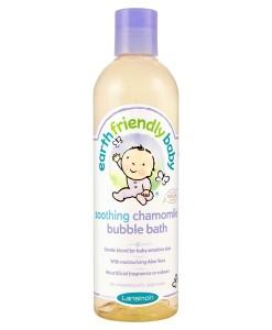 Earth Friendly Baby přírodní pěna do koupele - heřmánek a