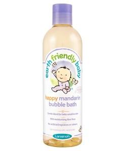 Earth Friendly Baby přírodní pěna do koupele - mandarinka a