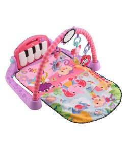 Fisher-Price hraci decka s pianem pink a