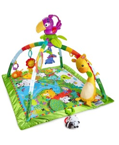 Fisher-Price hraci deka s hrazdou Rainforest Deluxe a