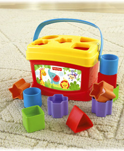 Fisher-Price vkladacka a
