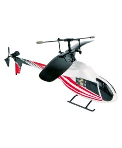 IR vrtulnik cerveny a