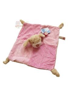 Keel toys mazlici decka s chrastitkem medvidekpejsek (ruzovy)