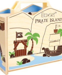 Pirátský ostrov v kufru b