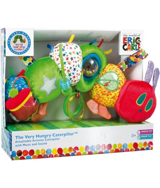 Rainbow designs the very hungry caterpillar hrajici housenka a