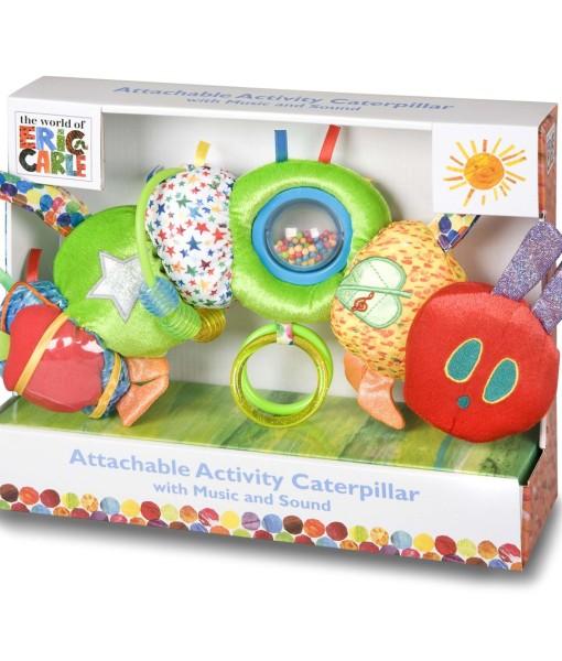 Rainbow designs - the very hungry caterpillar hrajici housenka d