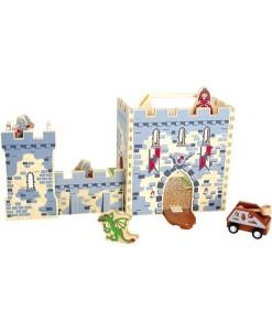 Rytirsky hrad v kufru a