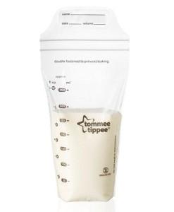 Tommee Tippee C2N sáčky na skladování mateřského mléka b