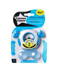 Tommee Tippee kousatko pro predni zoubky, 4m+ (modre) b