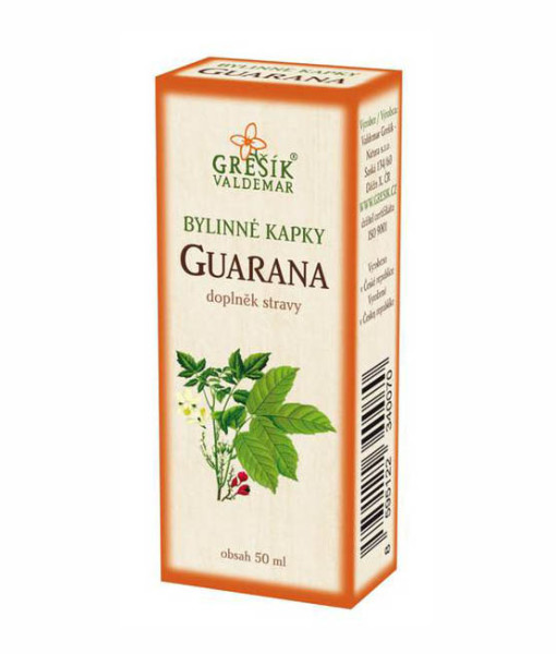 Gresik kapky guarana 50 ml a