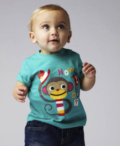 Mothercare tricko opicka a