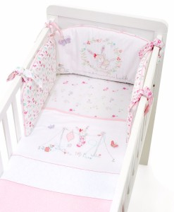 Mothercare set do postylky s mantinelem My Little Garden a