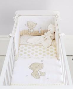 Mothercare set do postylky s mantinelem medvidek & kamaradi b