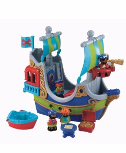 Early Learning Centre piratska lod Happyland b