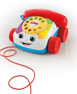 Fisher-Price tahaci telefon a