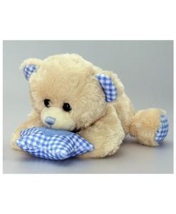 Keel Toys hrajici medvidek s hvezdickou (modry) a