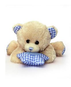 Keel Toys hrajici medvidek s hvezdickou (modry) b