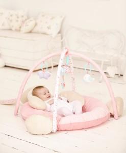 Mothercare hraci deka kralicek 3v1 b