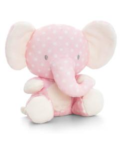 Keel Toys ruzovy plysovy slon a