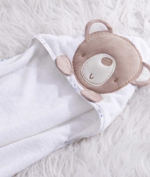 Silvercloud osuska s kapuci medvidek Little Star a