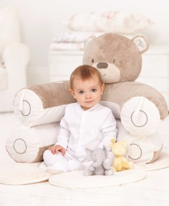 Mothercare podlozka medvidek 3v1 Sit Me Up a