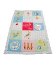 Rainbow Designs hraci deka s aktivitami Peter Rabbit a