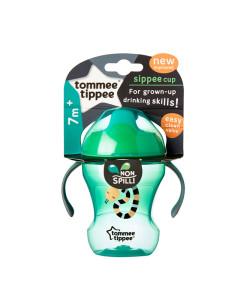 Tommee Tippee netekouci hrnecek s drzadly 7m+, 230 ml (zeleny) b