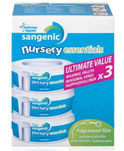 Sangenic Tec Nursery Essentials nahradni kazety , 3 ks a