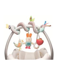 Taf Toys spirala s boxem na dudlik zahradka a