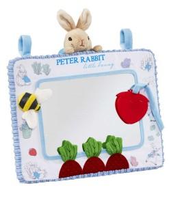 Rainbow Designs zrcatko s kousatkem Peter Rabbit a