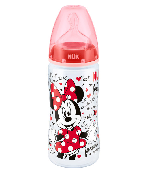 NUK First Choice+ lahev Disney Minnie, 300 ml a