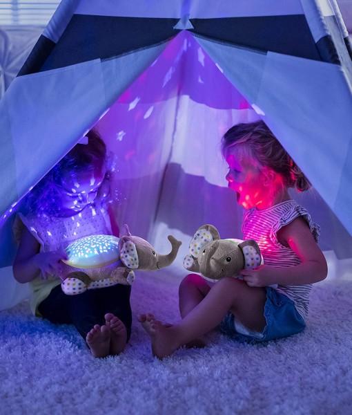Summer Infant plysovy slon s projektorem se zvuky h