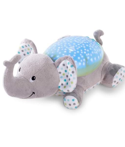 Summer Infant plysovy slon s projektorem se zvuky j