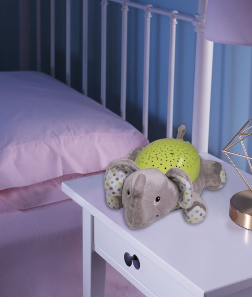 Summer Infant plysovy slon s projektorem se zvuky n