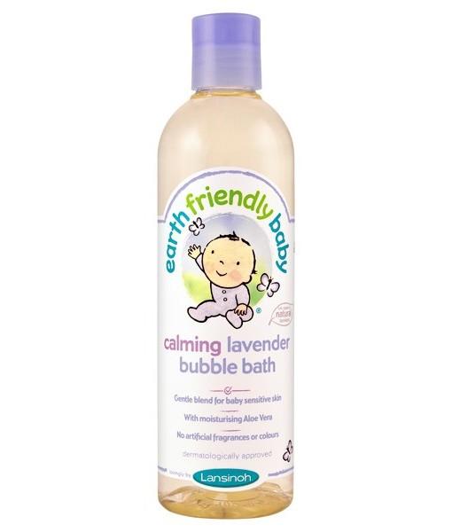 Earth Friendly Baby přírodní pěna do koupele - levandule a