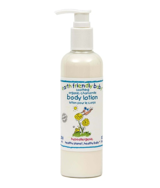 Earth Friendly Baby přírodní tělové mléko - heřmánek a