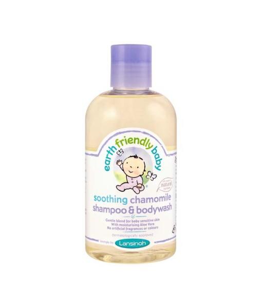 Earth Friendly Baby prirodni sampon a sprchovy gel hermanek a