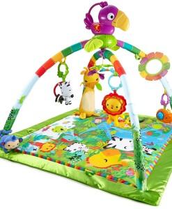 Fisher-Price hraci deka s hrazdou Rainforest Deluxe c