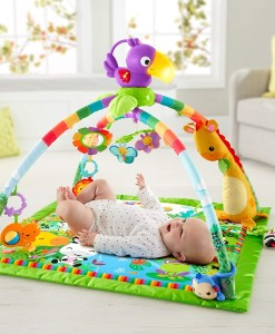 Fisher-Price hraci deka s hrazdou Rainforest Deluxe d