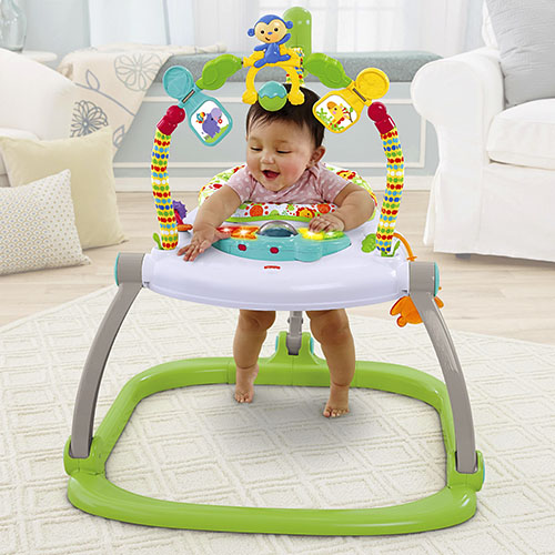 Fisher-Price skakadlo Jumperoo Rainforest e