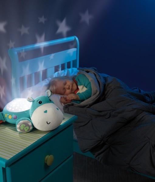 Fisher-Price uspavaci plysovy hrosik s projektorem a zvuky d