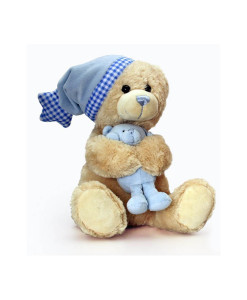 Keel Toys hudebni medvidek Cuddle Teddy (modry) b