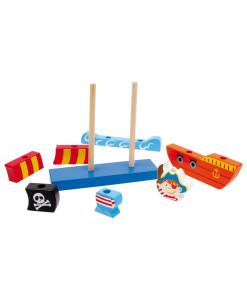 Legler nasouvaci piratska lod b