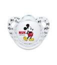 NUK dudlik Disney Mickey, V2 (6 - 18 mesicu), 2 ks c