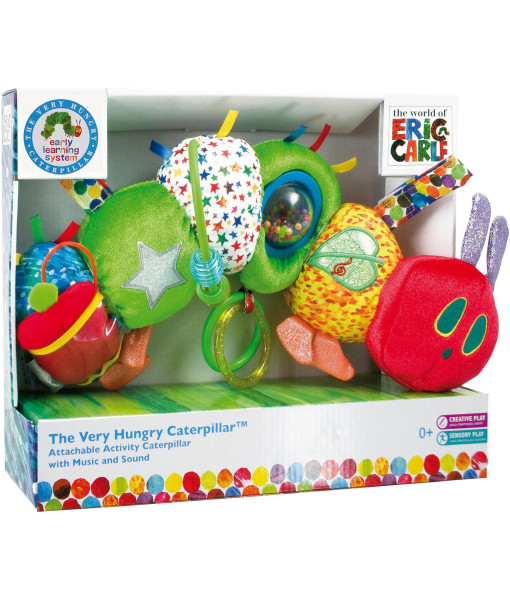 Rainbow designs the very hungry caterpillar hrajici housenka a