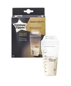 Tommee Tippee C2N sacky na skladovani materskeho mleka a