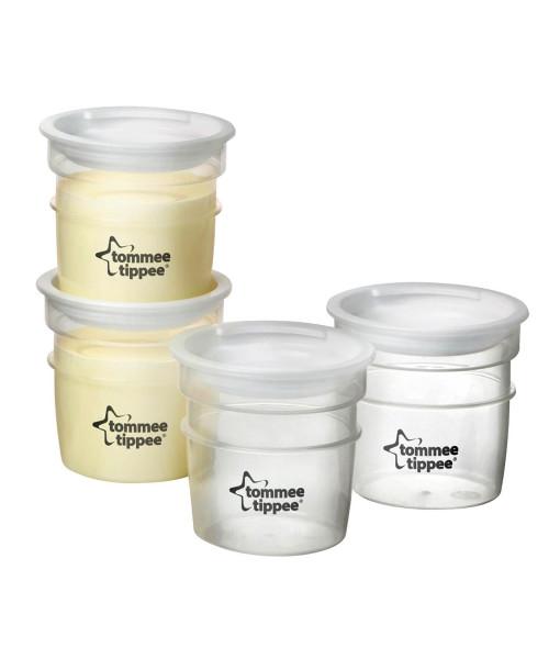 Tommee Tippee nadobky na skladovani materskeho mleka C2N, 4 ks b