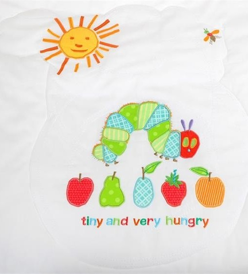 Very Hungry Caterpillar set do postylky s mantinelem c